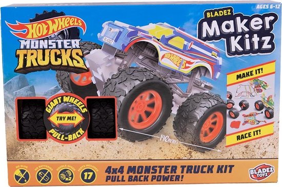Bladez Maker Kitz Hot Wheels 4×4 Monster Truck