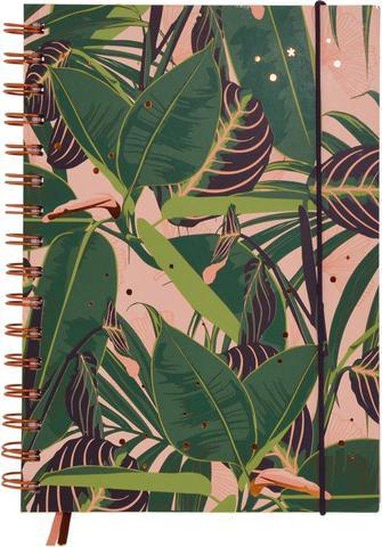A5 notitieboek gelijnd tropical