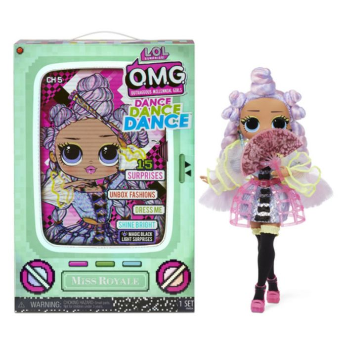 Lol Surprise OMG Dance Doll Miss Royale