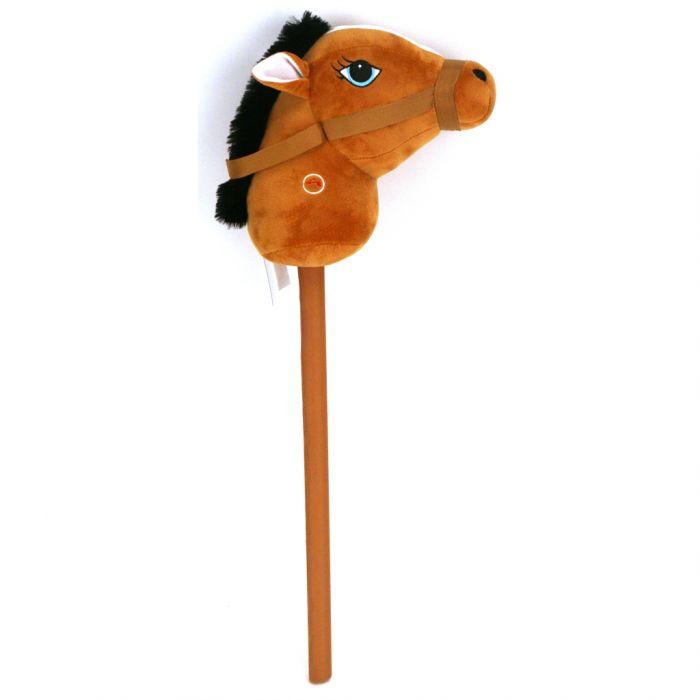 Stokpaardje Met Geluid 68 Cm Pluchiez