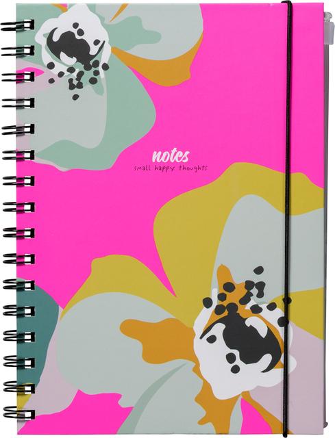 Notitieboek A5 spiraal Natural Beauty