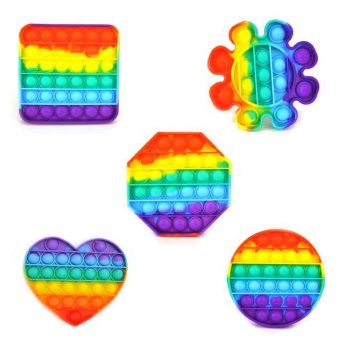 Stress Pop'N Play Fidget Assorti Multicolor