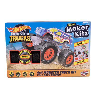 HOT WHEELS MAKER KITZ MONSTER TRUCK 4WD