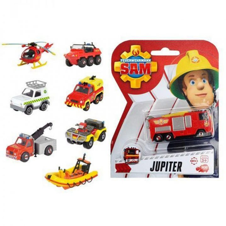 Brandweerman Sam Diecast 8 Assorti