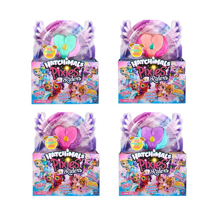 Hatchimals Pixies Riders Assorti