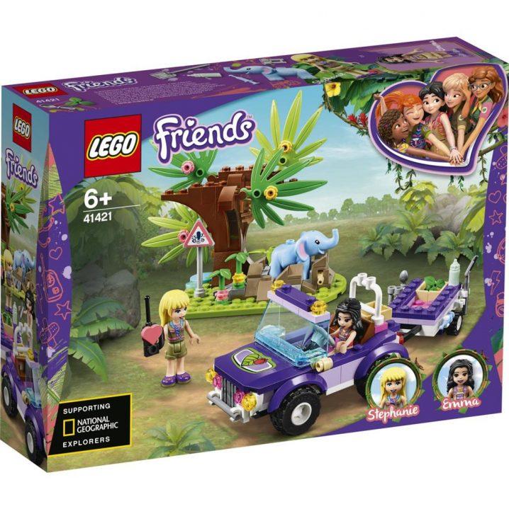 LEGO Friends 41421 Reddingsbasis Babyolifant In Jungle