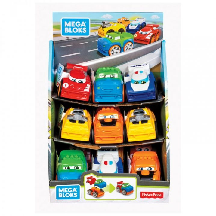 Fisher Price Mega Bloks Building Basics First Racers Assortiment