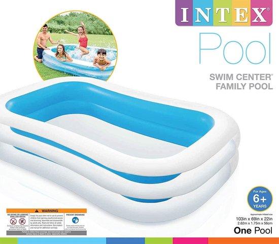 Intex Zwembad opblaas zwembad