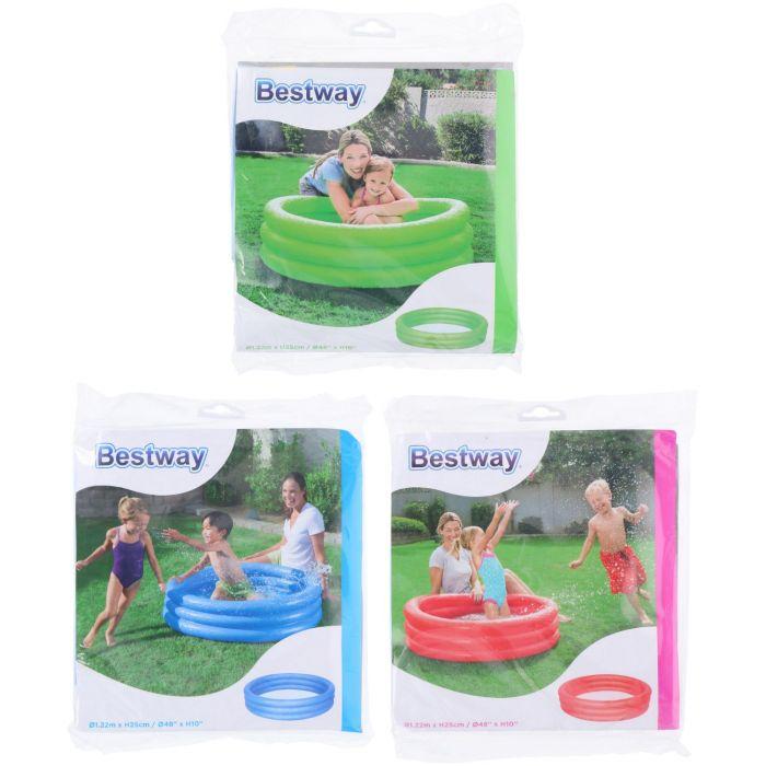 Bestway Kinderzwembad 3 Rings 122 X 25 cm Assorti