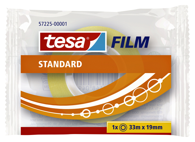 Plakband Tesa film standaard 15mmx10m