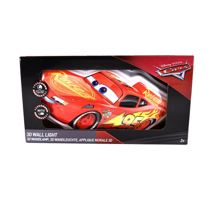 Cars Wall Light 3D
