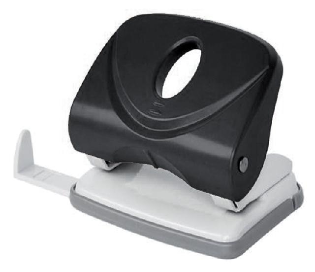 Perforator Bruna 2-gaats zwart