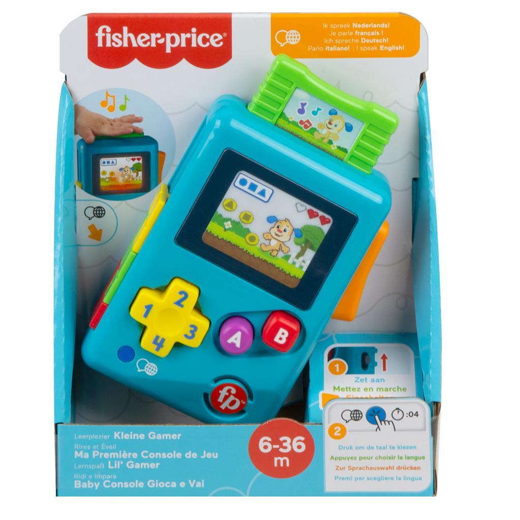 FISHER PRICE LEERPLEZIER – GAMEN