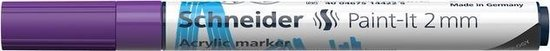 Acryl Marker Schneider Paint-it 310 2mm paars