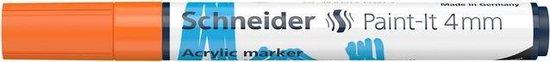 Acryl Marker Schneider Paint-it 320 4mm oranje