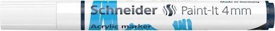 Acryl Marker Schneider Paint-it 320 4mm wit