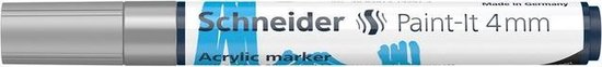 Acryl Marker Schneider Paint-it 320 4mm zilver