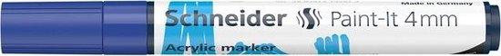 Acryl Marker Schneider Paint-it 320 4mm blauw