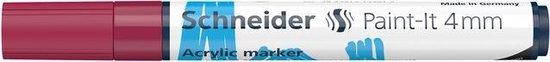 Acryl Marker Schneider Paint-it 320 4mm bordeaux