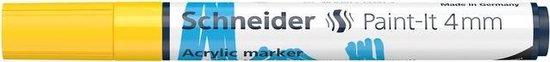 Acryl Marker Schneider Paint-it 320 4mm geel