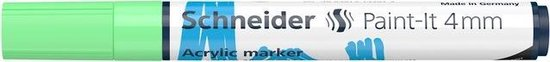 Acryl Marker Schneider Paint-it 320 4mm pastel groen