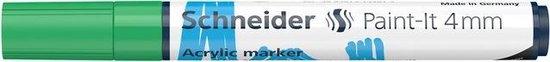 Acryl Marker Schneider Paint-it 320 4mm groen