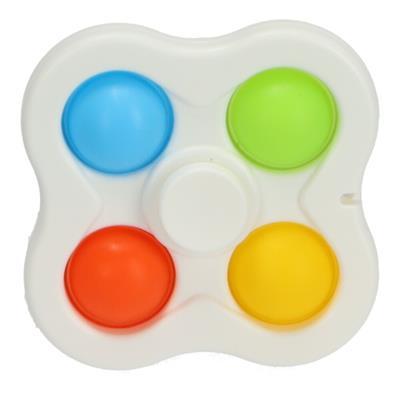 Fidget 4 Button Spinner Assorti