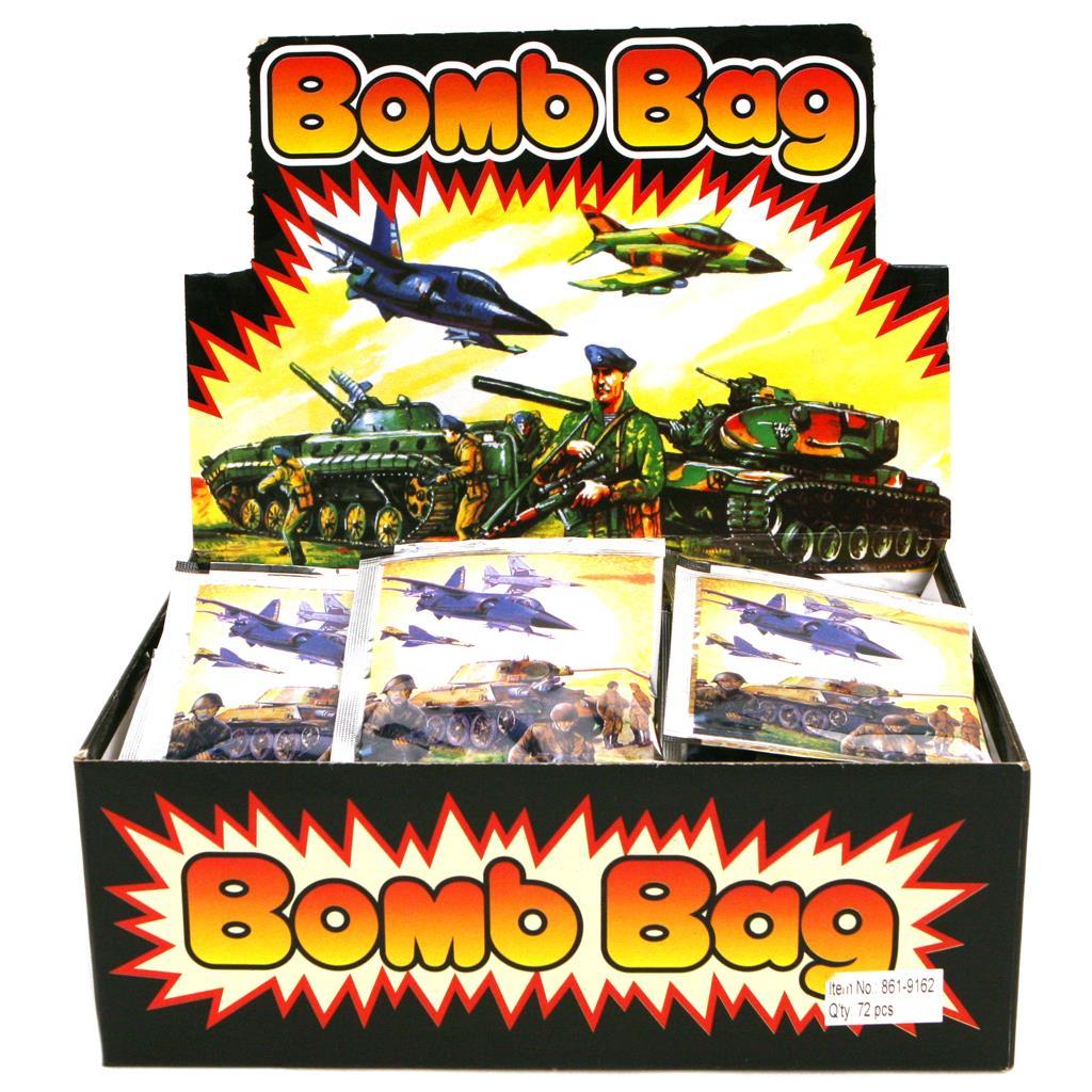 BOMB BAG DISPLAY