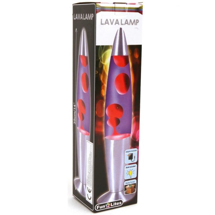 DISCO LAVALAMP 35 CM ADAPTER