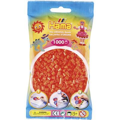 Hama Strijkkralen 1000 Stuks Oranje