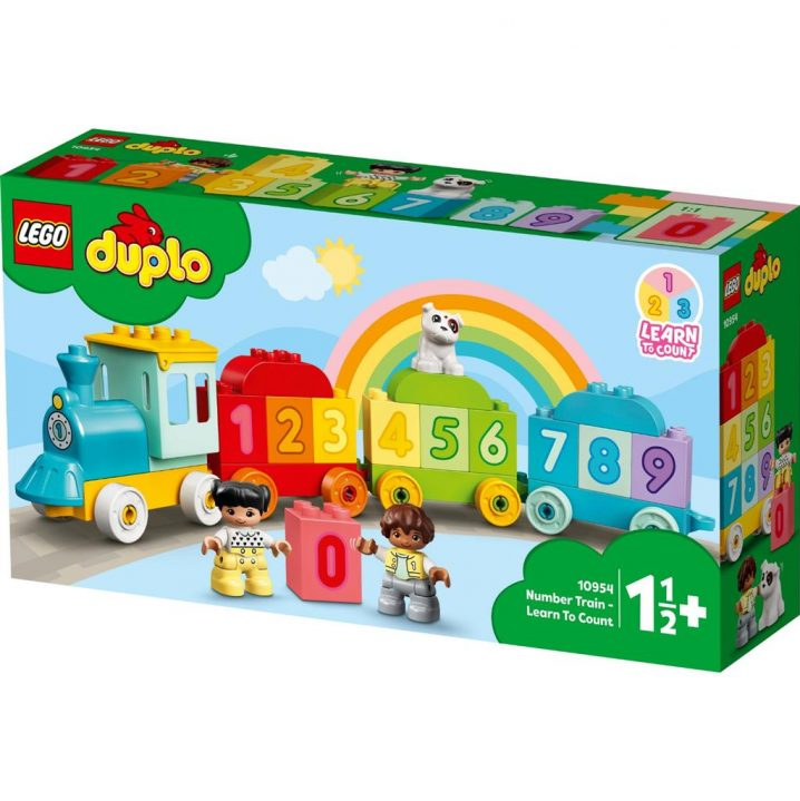 LEGO DUPLO 10954 Number Train – Learn To Count