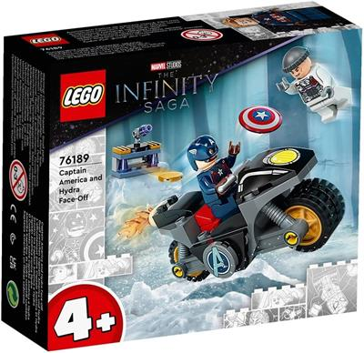 LEGO SUPER HEROES 76189 CAPTAIN AMERICA AND HYDRA FACE-OFF