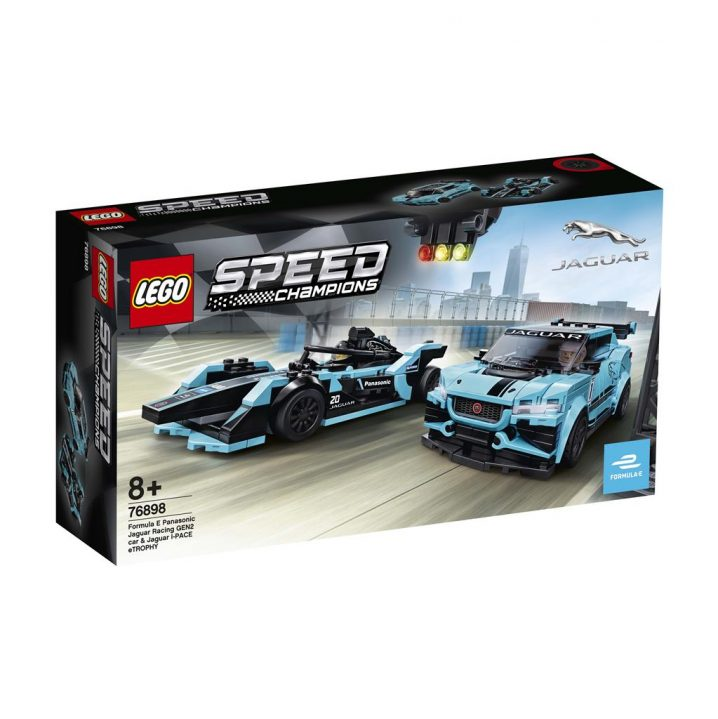 LEGO SPEED 76898 FORMULA E PANASONIC JAGUAR RACING GEN2 CAR & JAGUAR I-PACE ETROPHY