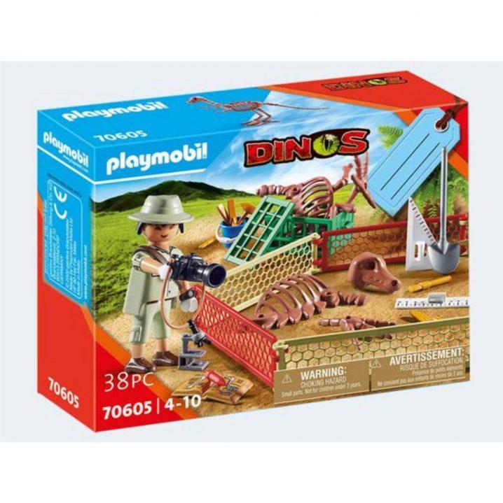 PLAYMOBIL 70605 GESCHENKSET PALEONTHOLOOG