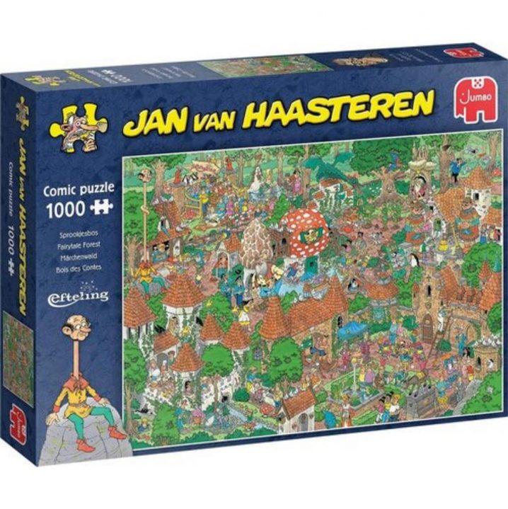 Puzzel Jan Van Haasteren Sprookjesbos 1000 Stukjes