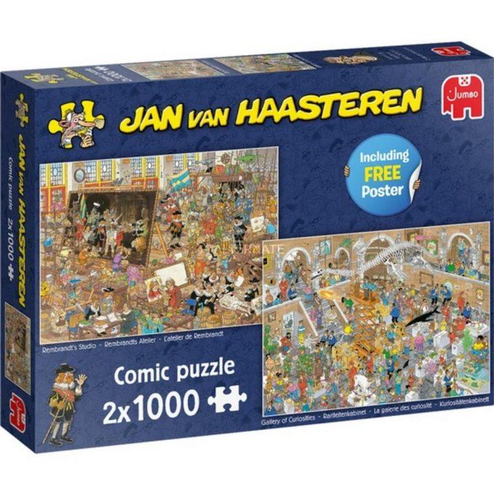 JAN VAN HAASTEREN PUZZEL DAGJE MUSEUM 2 X 1000 STUKJES