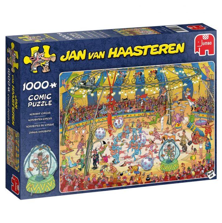 JAN VAN HAASTEREN PUZZEL ACROBATEN CIRCUS 1000 STUKJES