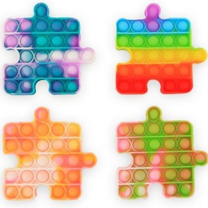 Magic Fidget Pop-it puzzel tie-dye 13cm