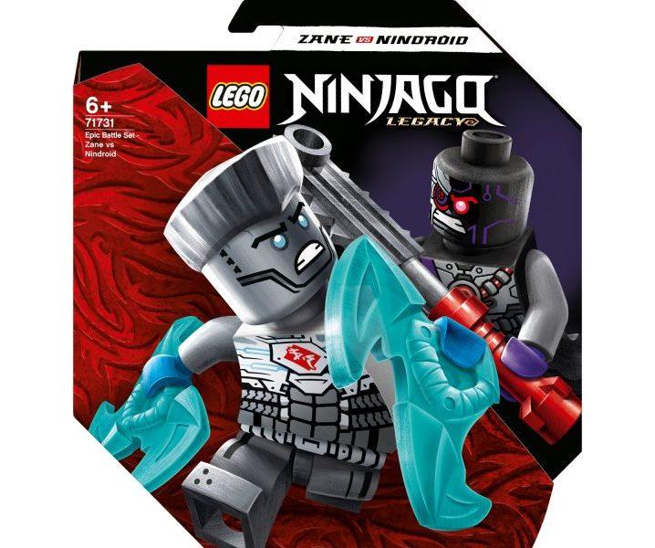 LEGO NINJAGO 71731 EPIC BATTLE SET – ZANE VS. NINDROID