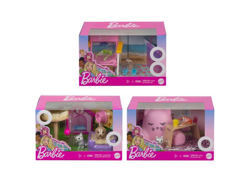 Barbie Huisdieren Setjes Assorti