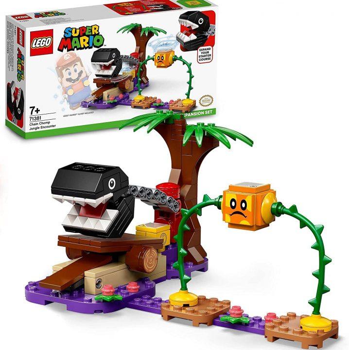 LEGO Super Mario 71381 Uitbreidingsset: Chain Chain Chomp-junglegevecht