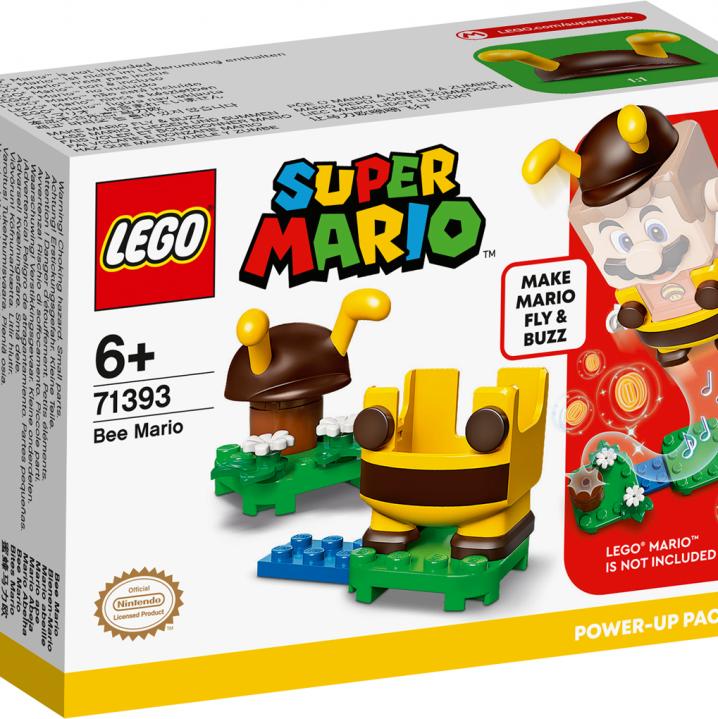 LEGO SUPER MARIO 71393 POWER-UPPAKKET BIJEN-MARIO